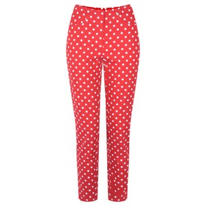Robell Trousers Bella 09 Polka Dot Print Trouser