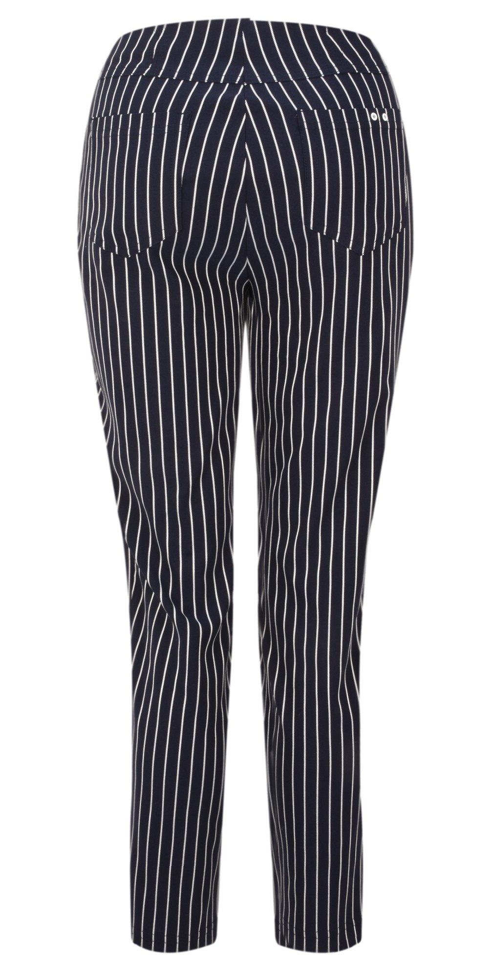 Bella 09 Pin-Stripe Cropped Trouser main image