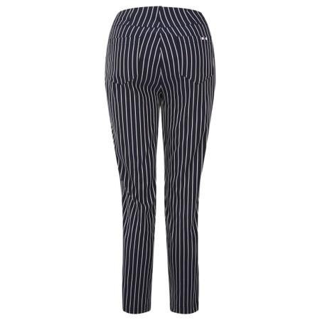 Robell  Bella 09 Pin-Stripe Cropped Trouser - Blue