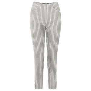 Robell Trousers Bella 09 Pin-Stripe Cropped Trouser