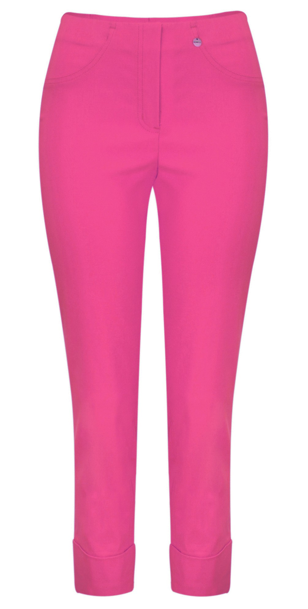 Bella 09 Orchid Pink Ankle Length 7/8 Cuff Trouser main image