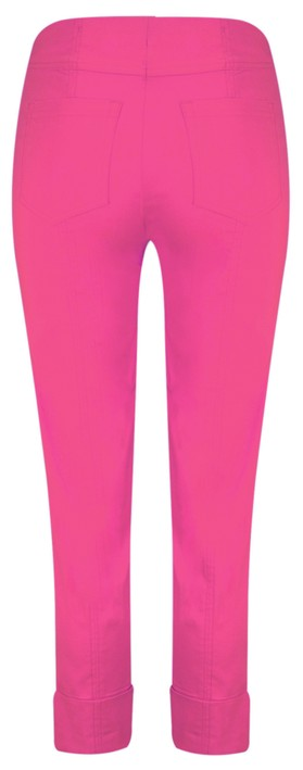 Robell  Bella 09 Orchid Pink Ankle Length 7/8 Cuff Trouser Orchid Pink 550