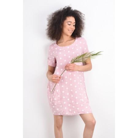 Arka Stella Dotty Easyfit Dress - Pink