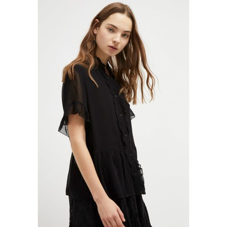 French Connection Clandre Light Blouse - Black