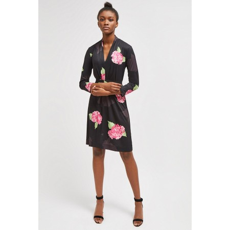 French Connection Eleanor Slinky Jersey Dress - Black