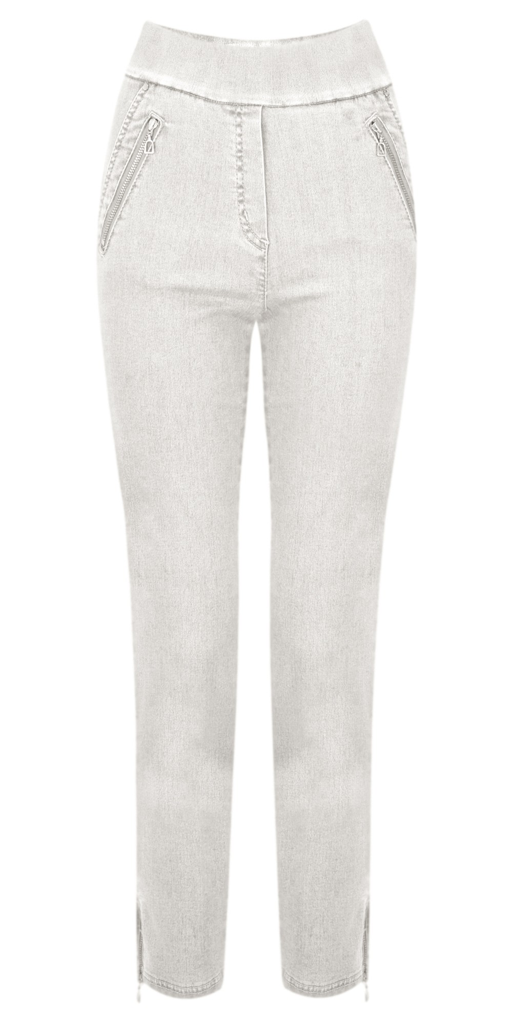 Nena 09 7/8 Ankle Zip Cropped Jeans main image