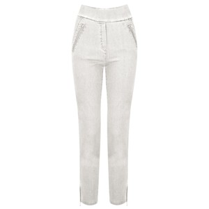 Robell  Nena 09 Ankle Zip Cropped Powerstretch Jeans