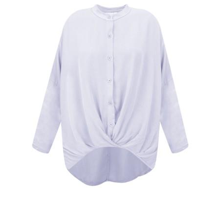 DECK Evie Easyfit Shirt Top - Blue