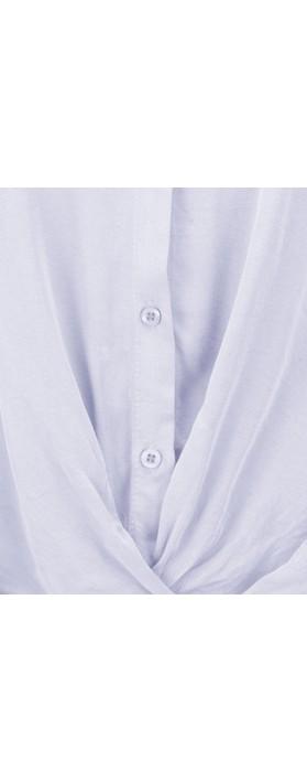 DECK Evie Easyfit Shirt Top Sky