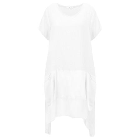 DECK Keva Easyfit Tunic - White