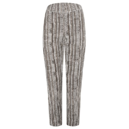 Foil Trapeze 7/8 Pull On Trouser  - Grey