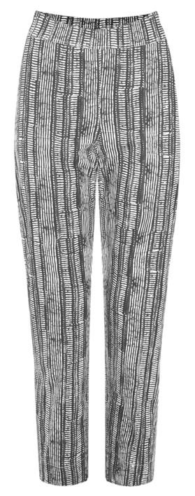 Foil Trapeze 7/8 Pull On Trouser  Black Dash