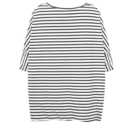 Mama B Sidro Riga Stripe Top - Black