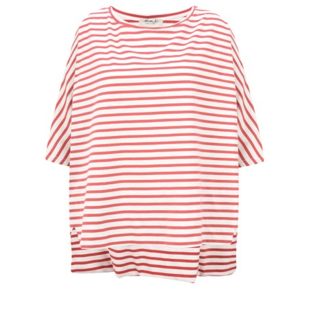 Mama B Sidro Riga Stripe Top - Red