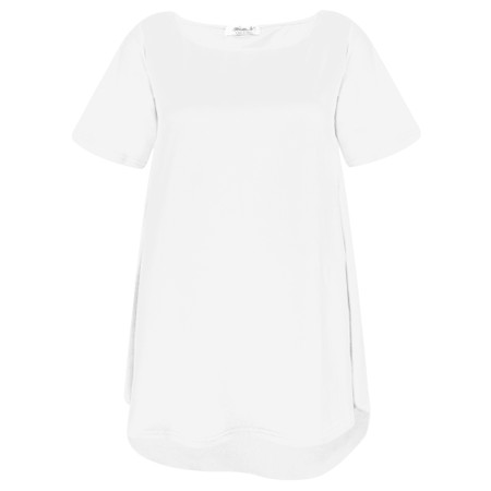Mama B Ciprus Izmir Plain Top - White