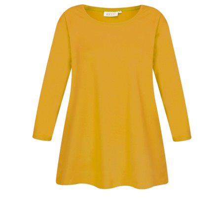 Masai Clothing Cilla Basic Top - Yellow