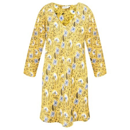 Masai Clothing Kata Floral Top - Yellow