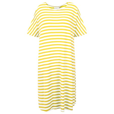 Masai Clothing Gertie Stripe Tunic - Yellow
