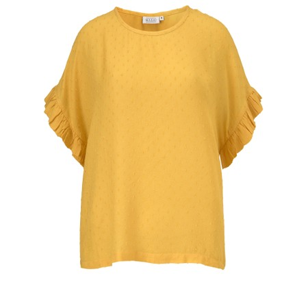 Masai Clothing Earleen Top - Yellow