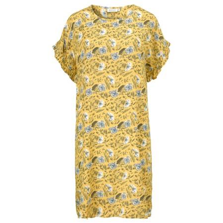 Masai Clothing Nara Floral Dress - Yellow