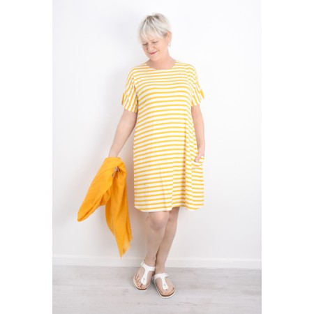 Masai Clothing Ava Cotton Scarf - Yellow