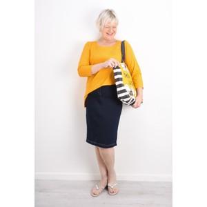 Robell  Maraike Power Denim Skirt