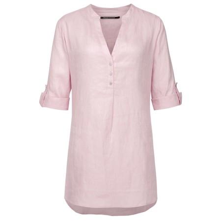 Expresso Estelle Linen Blouse - Pink
