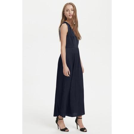 ICHI Sky Maxi Dress - Blue