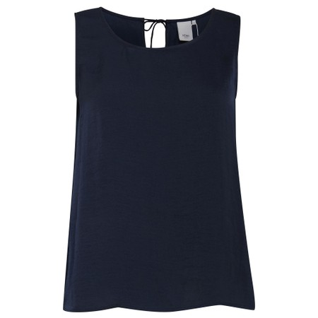 ICHI Susan Top - Blue