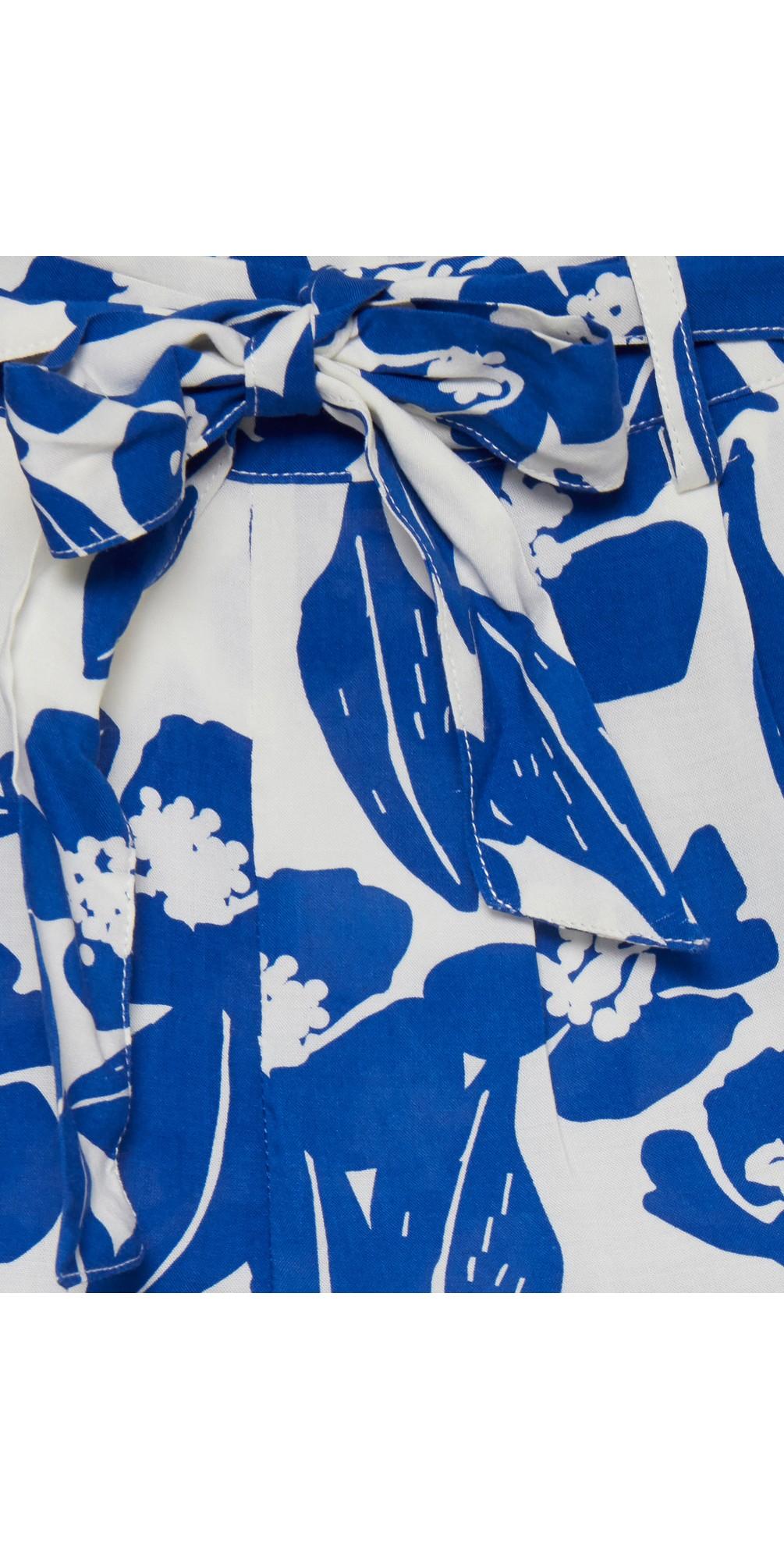 Nella Floral Print Shorts main image