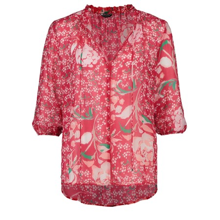 Expresso Ebke Floral  Blouse - Red
