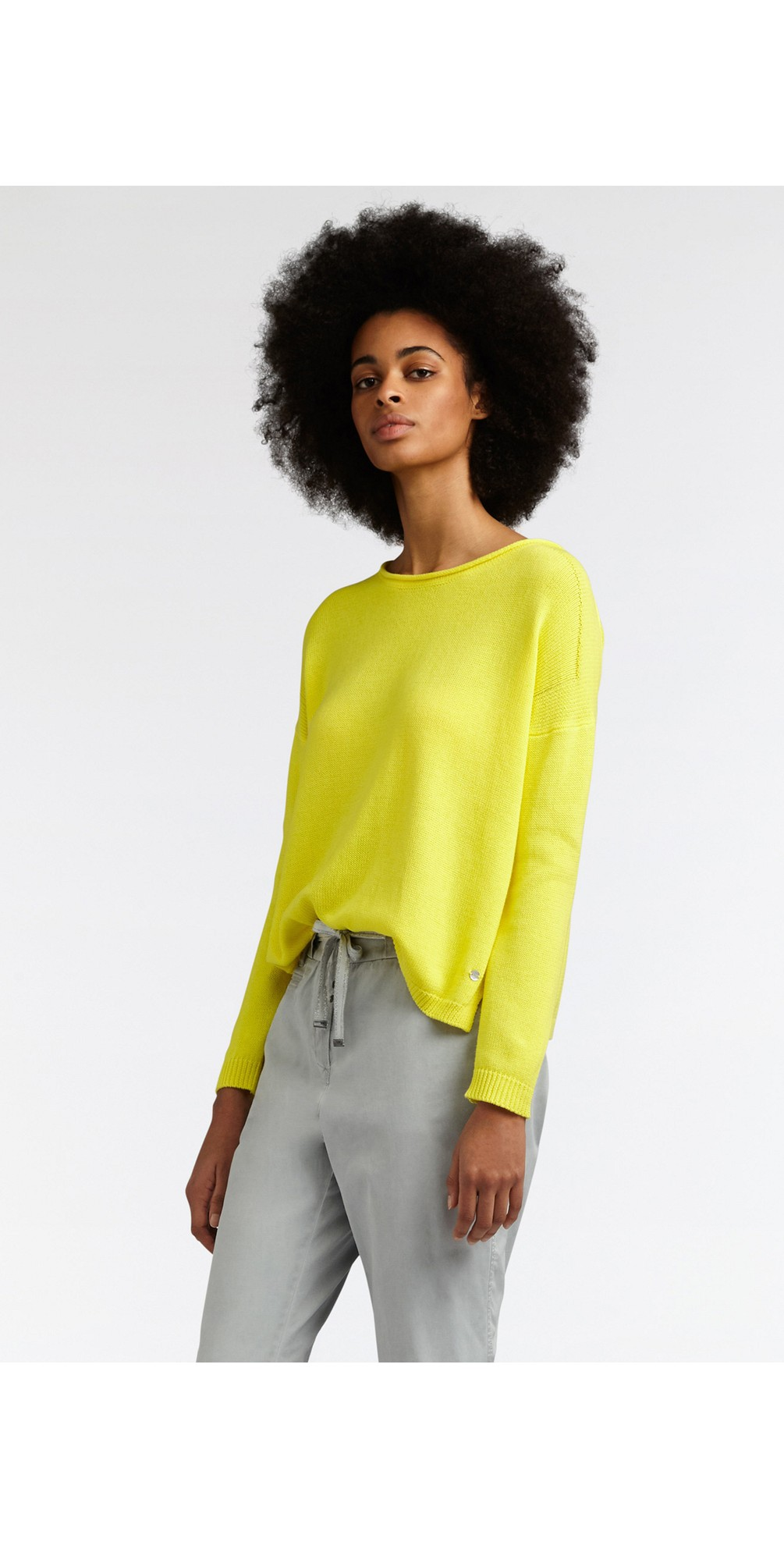 Basic Cotton Jumper main image