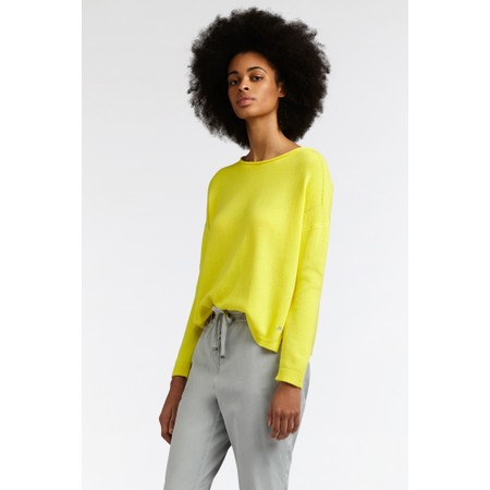 Sandwich Clothing Basic Cotton Jumper - Yellow