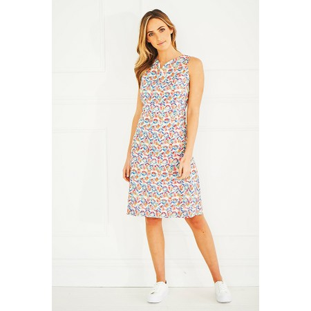 Adini Irina Print Deborah Dress - Green