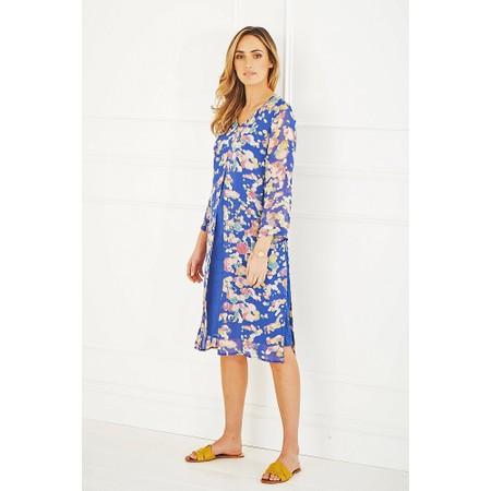 Adini Painters Spot Print Painters Spot Dress - Blue