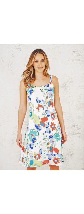 Adini Dominica Print Dominica Dress Tropical