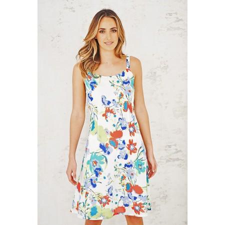 Adini Dominica Print Dominica Dress - Multicoloured