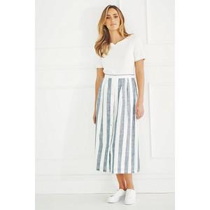 Adini Quay Stripe Wharf Skirt