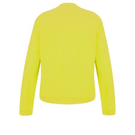 Sandwich Clothing Cotton Slub Jersey Bomber Jacket - Yellow