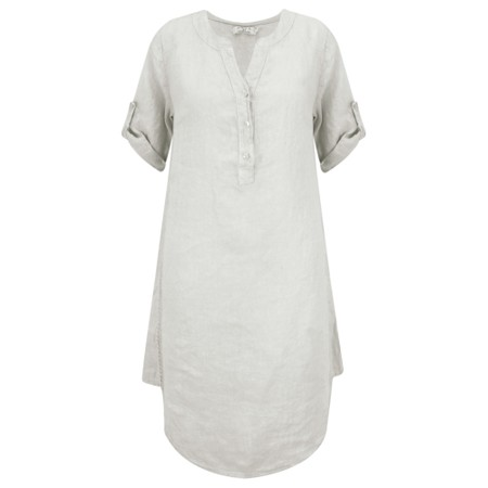 DECK Mairi Linen Dress - Beige