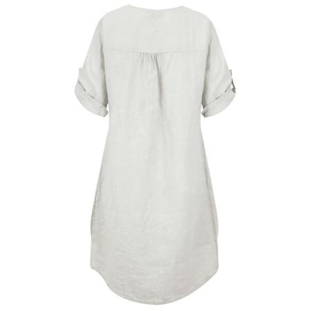 DECK Mairi Linen Dress - Beige