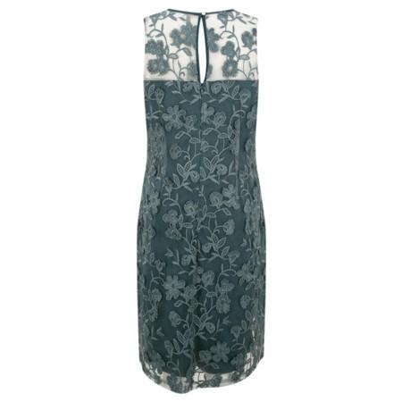 Foil Love Me Slender Dress - Blue