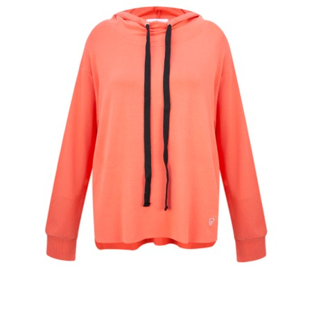 Sundae Tee Kelis Hooded Lounge Top - Orange