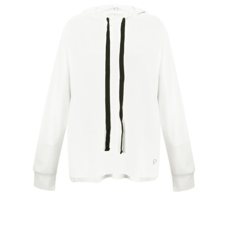 Sundae Tee Kelis Hooded Lounge Top - Off-White