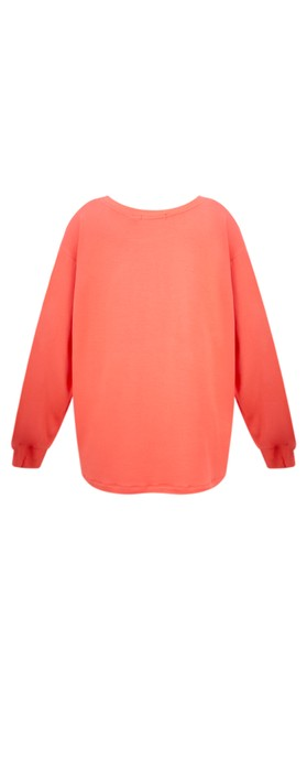 Sundae Tee Mila Long Sleeve Top Coral