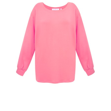 Sundae Tee Mila Long Sleeve Top - Pink