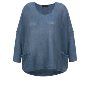 Grizas Tina Oversized Linen Knit Jumper