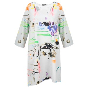 Grizas Alina Printed Jersey Tunic Top