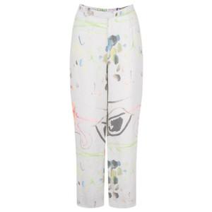 Grizas Klara Printed Linen Easyfit Trouser