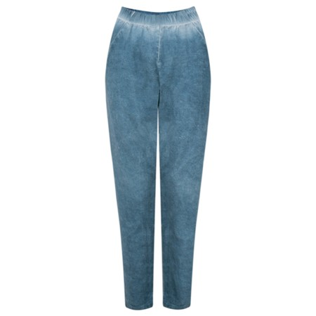 Grizas Ania Linen Mix Tregging  - Blue